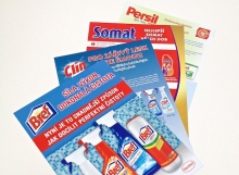 Tisk POS letáků pro Henkel