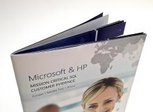 Brožura, skládané stránky