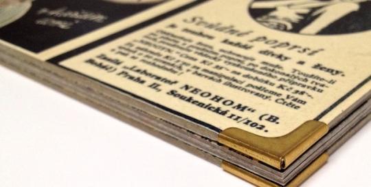 Výroba menu restaurace Historie