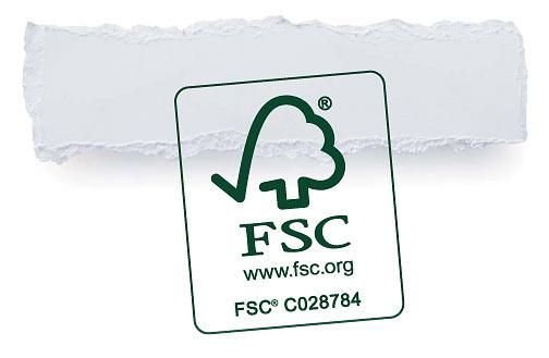 certifikat FSC zvyšuje hodnotu tiskovin