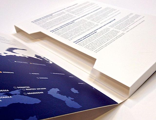 Tisk firemních desek a obalů