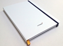 AF BKK Tiskárna Praha vyráběla: Reklamní zápisník bílý