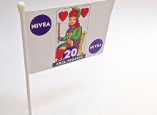Produkce reklamní vlaječky - tiskárna AF BKK