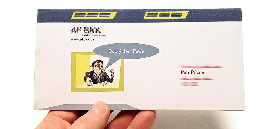 personalizace tisku v tiskárně AF BKK Praha