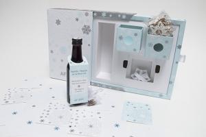 AF BKK vánoční box_vzor ražba fólií